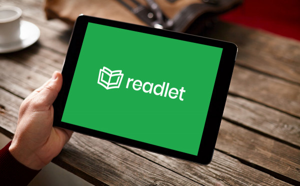 Sample branding #1 for Readlet