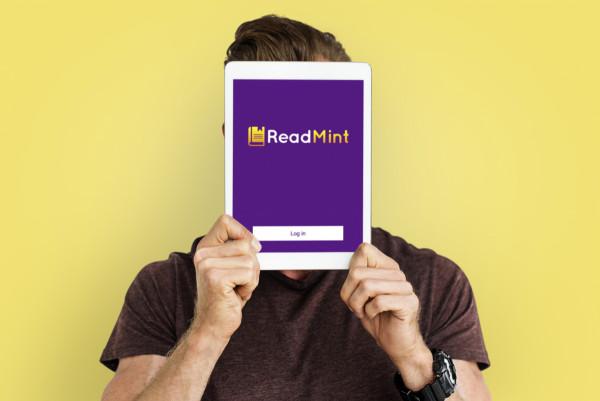 Sample branding #2 for Readmint