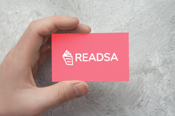 Sample branding #3 for Readsa