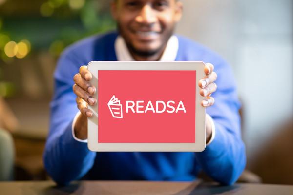 Sample branding #2 for Readsa