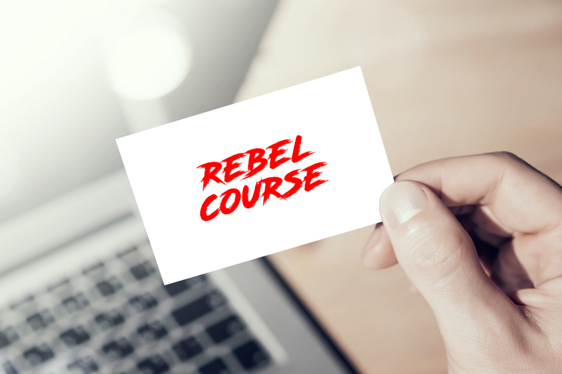 Sample branding #2 for Rebelcourse