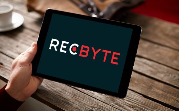 Sample branding #3 for Recbyte