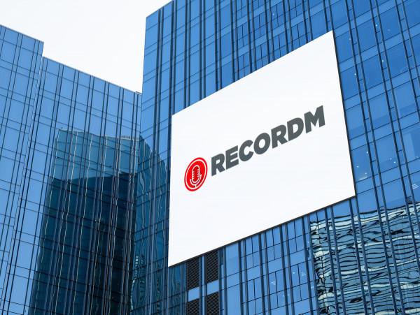 Sample branding #1 for Recordm