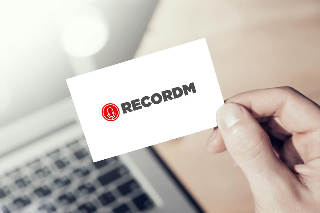 Sample branding #2 for Recordm