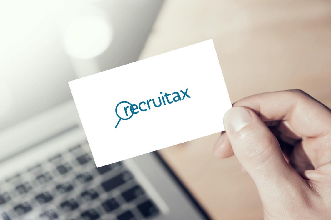 Sample branding #2 for Recruitax