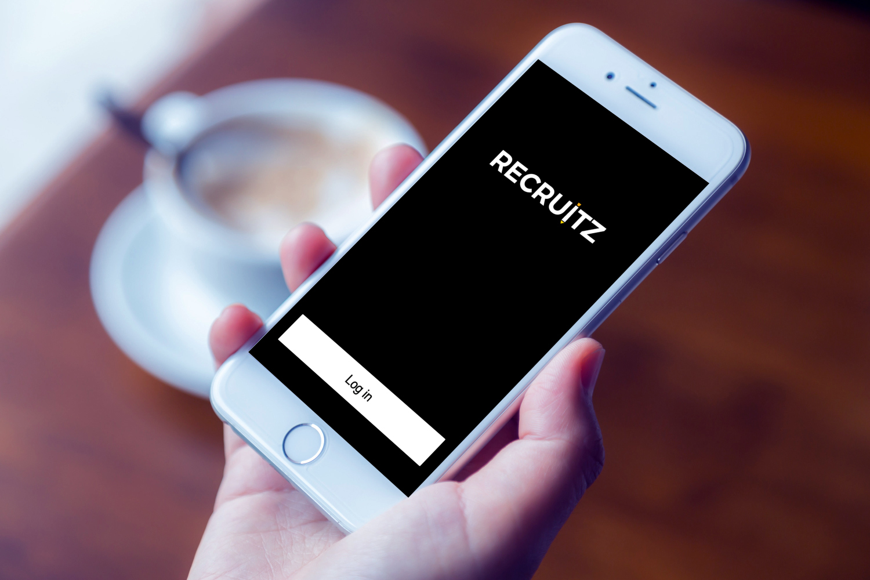 Sample branding #1 for Recruitz