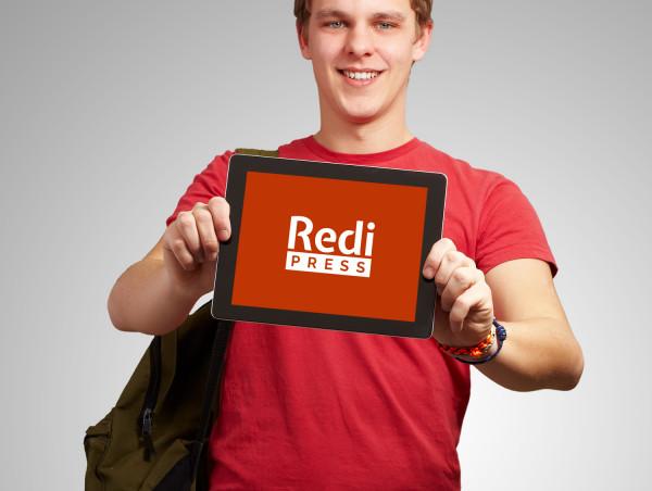 Sample branding #2 for Redipress