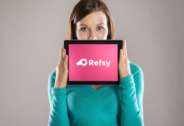Sample branding #1 for Refsy