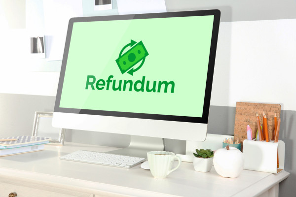 Sample branding #1 for Refundum