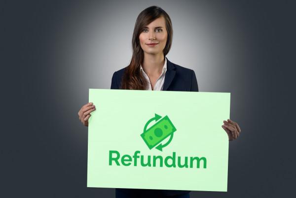 Sample branding #3 for Refundum