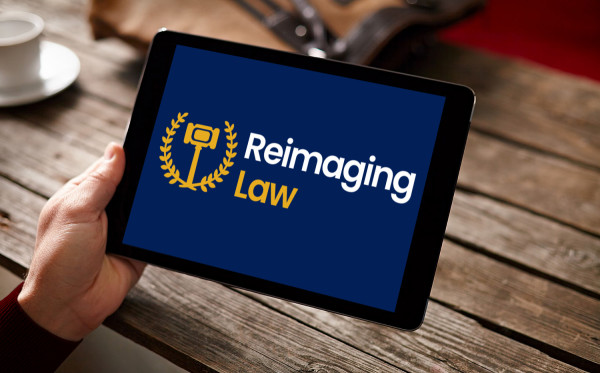 Sample branding #3 for Reimaginglaw