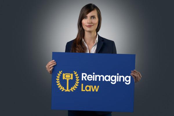 Sample branding #2 for Reimaginglaw