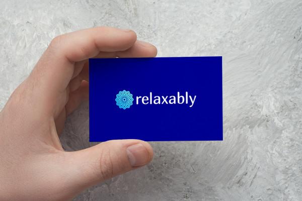 Sample branding #1 for Relaxably