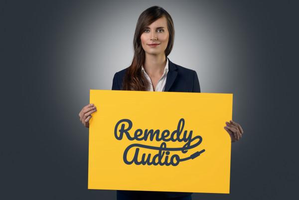 Sample branding #2 for Remedyaudio