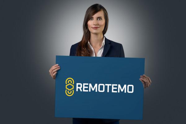 Sample branding #1 for Remotemo