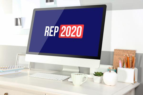 Sample branding #1 for Rep2020