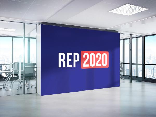 Sample branding #3 for Rep2020