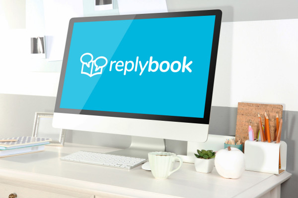 Sample branding #3 for Replybook
