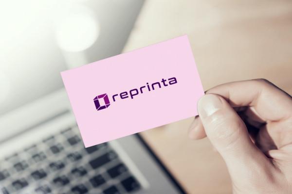 Sample branding #2 for Reprinta