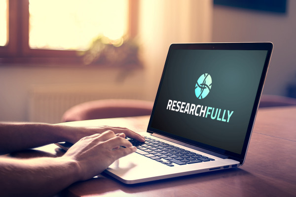 Sample branding #1 for Researchfully