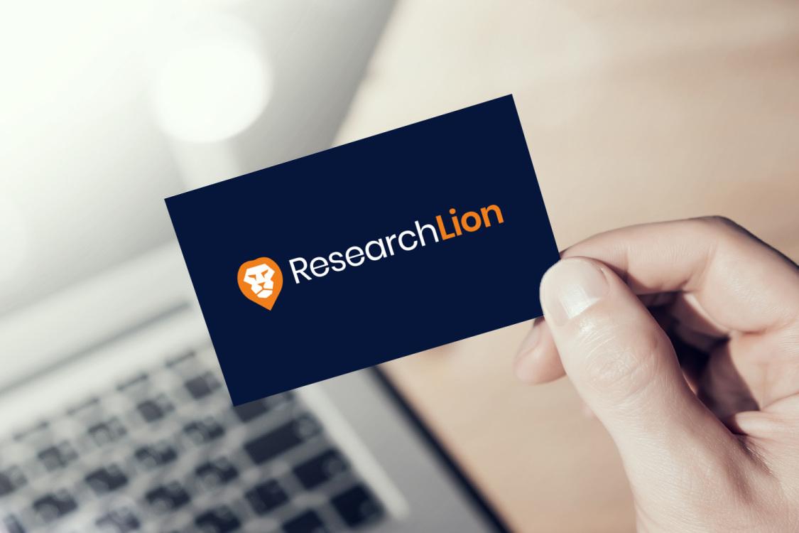 Sample branding #1 for Researchlion
