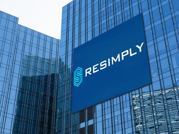 Sample branding #2 for Resimply