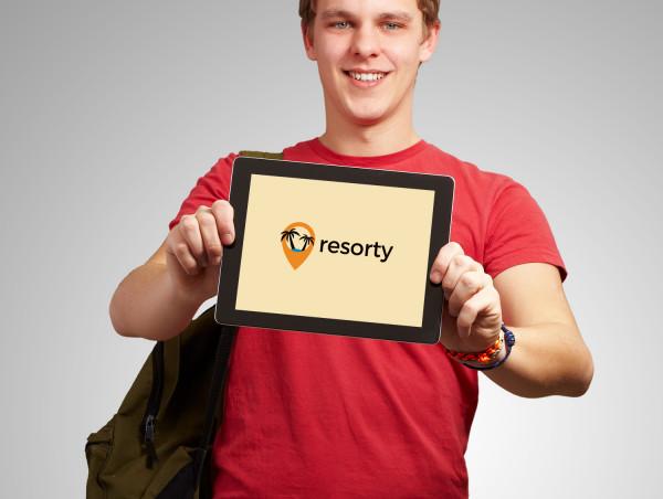 Sample branding #3 for Resorty