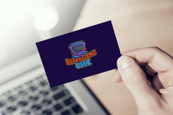 Sample branding #1 for Retrogamegeek