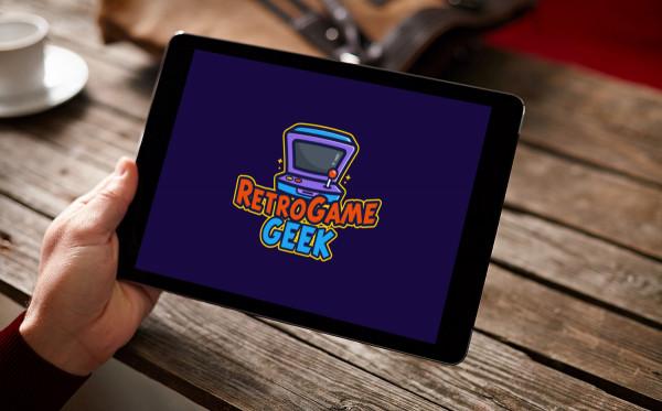 Sample branding #2 for Retrogamegeek