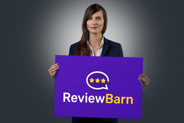 Sample branding #1 for Reviewbarn