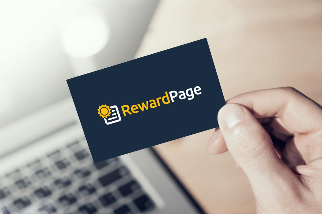 Sample branding #3 for Rewardpage