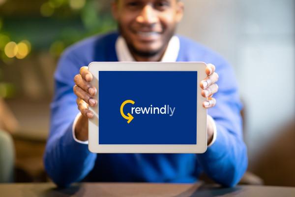 Sample branding #3 for Rewindly