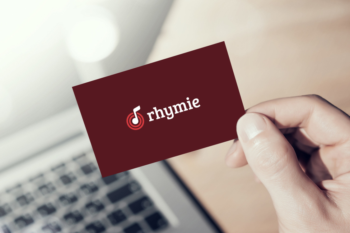 Sample branding #2 for Rhymie