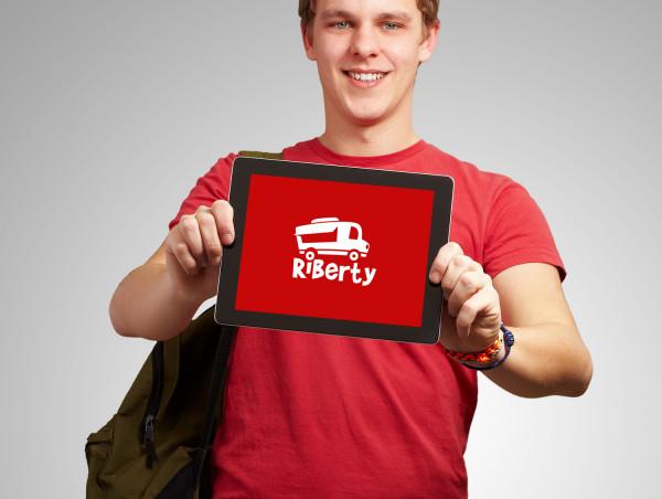 Sample branding #2 for Riberty