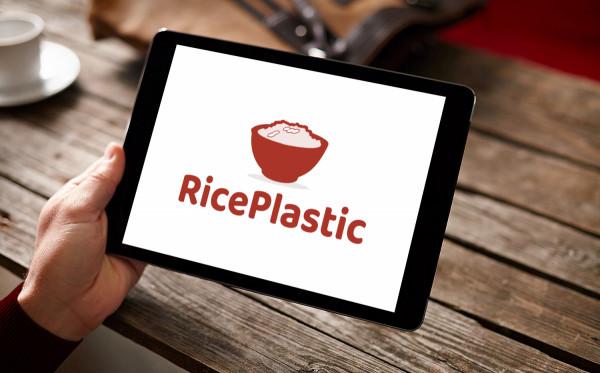 Sample branding #1 for Riceplastic