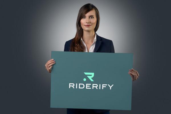 Sample branding #2 for Riderify