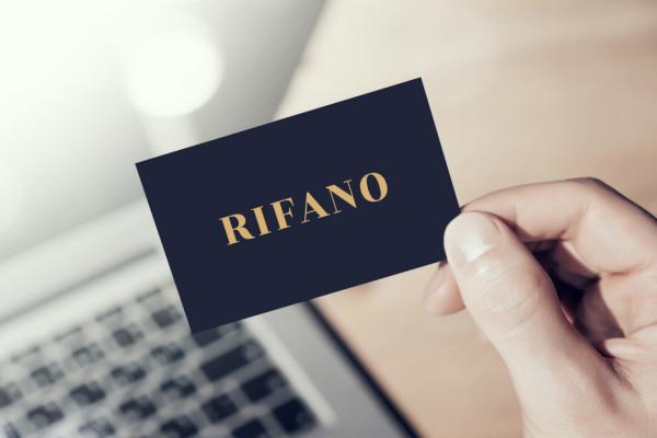 Sample branding #2 for Rifano