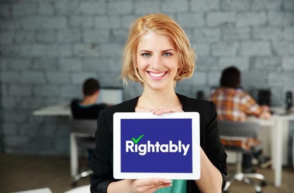 Sample branding #2 for Rightably