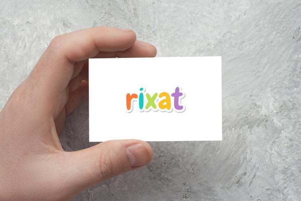 Sample branding #3 for Rixat