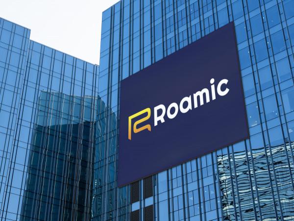 Sample branding #1 for Roamic
