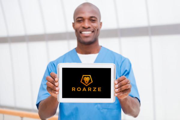Sample branding #3 for Roarze