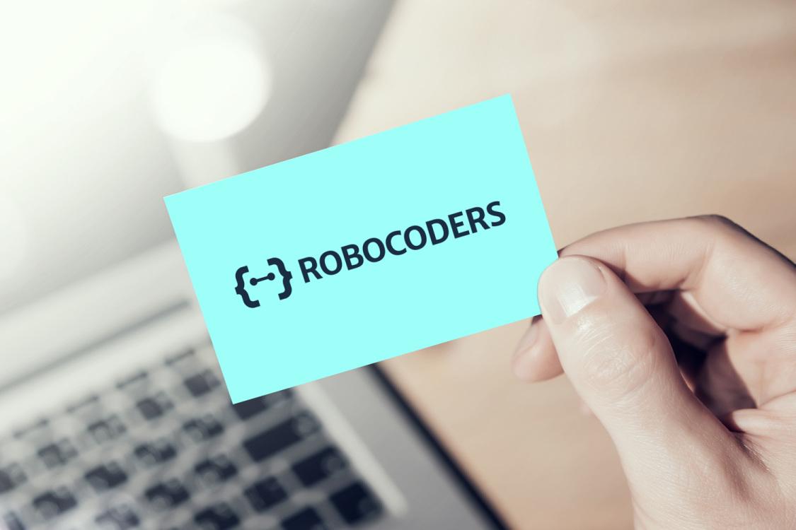 Sample branding #2 for Robocoders