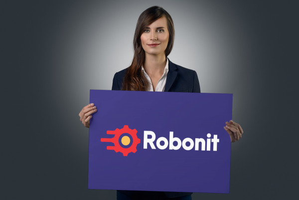 Sample branding #1 for Robonit