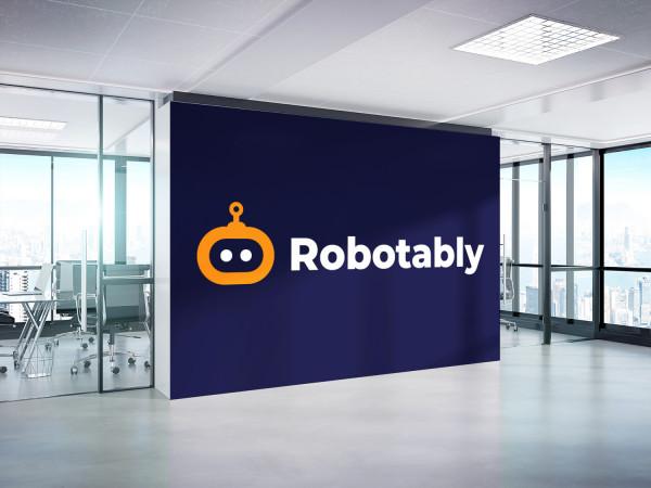 Sample branding #1 for Robotably