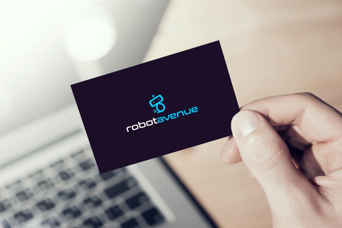 Sample branding #1 for Robotavenue