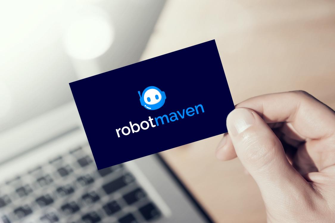 Sample branding #2 for Robotmaven
