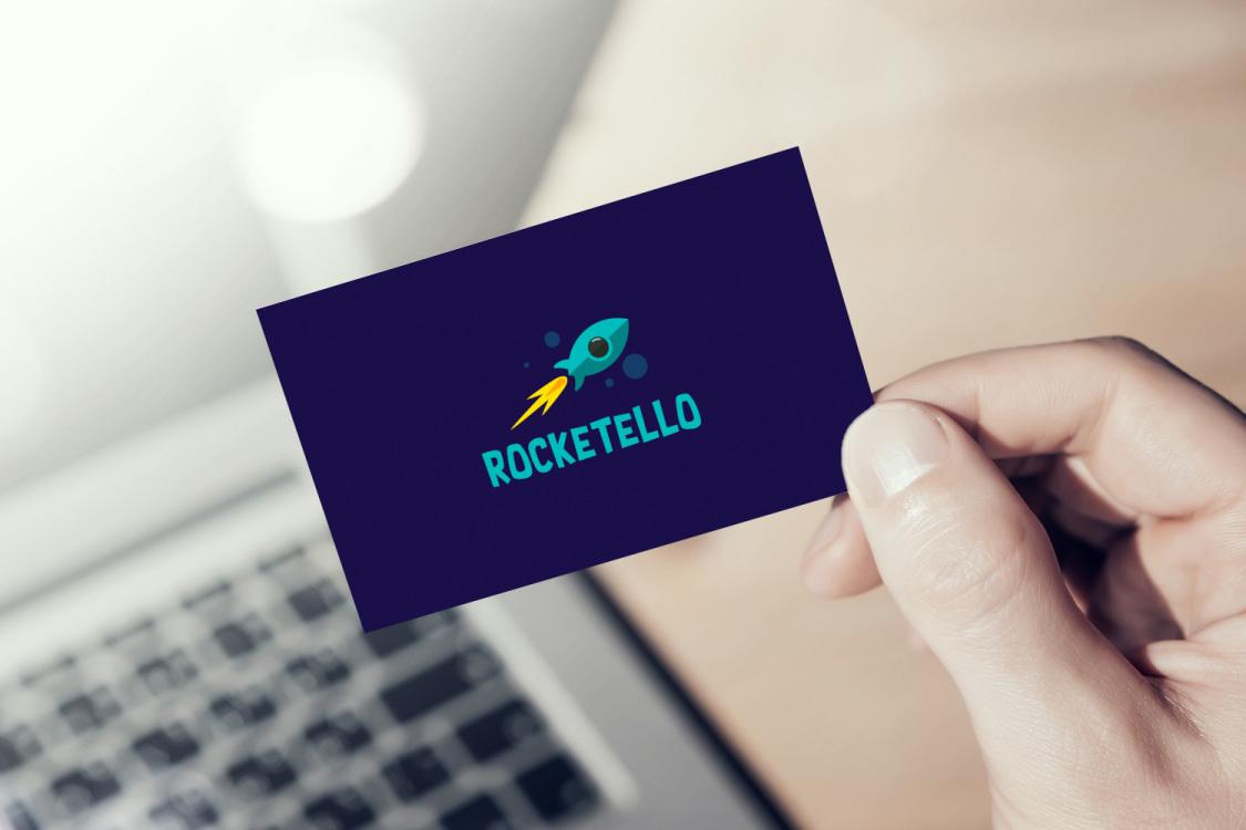 Sample branding #2 for Rocketello