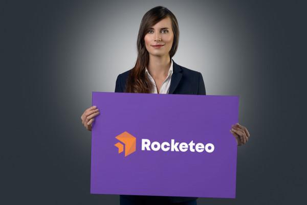 Sample branding #3 for Rocketeo