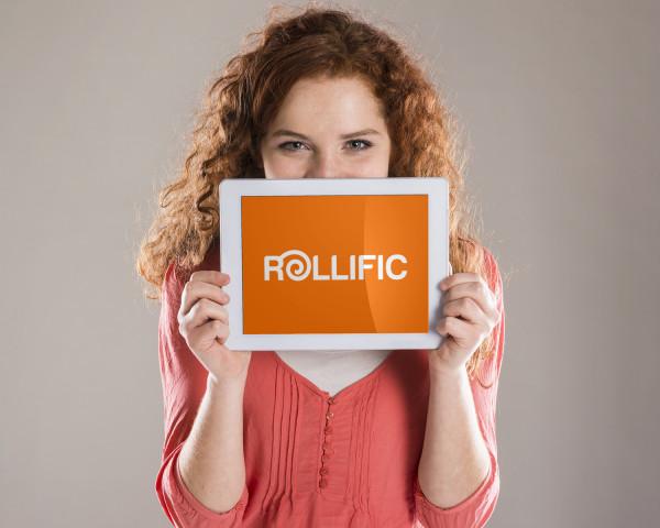 Sample branding #2 for Rollific