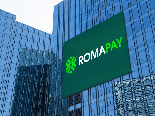 Sample branding #2 for Romapay